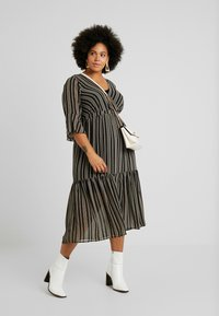Zizzi - EXCLUSIVE DRESS - Hverdagskjoler - black - 2