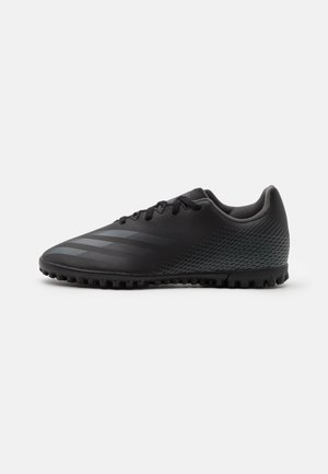 X GHOSTED.4 TF UNISEX - Chaussures de foot multicrampons - core black/grey six