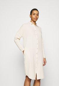 by-bar - DOPPIA DRESS - Shirt dress - sand - 0