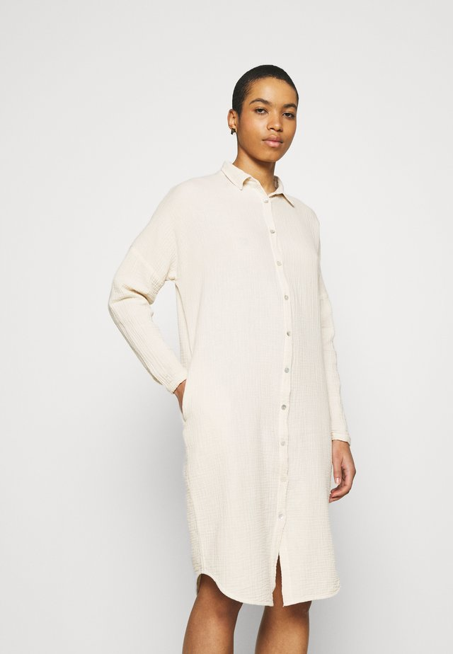 DOPPIA DRESS - Shirt dress - sand