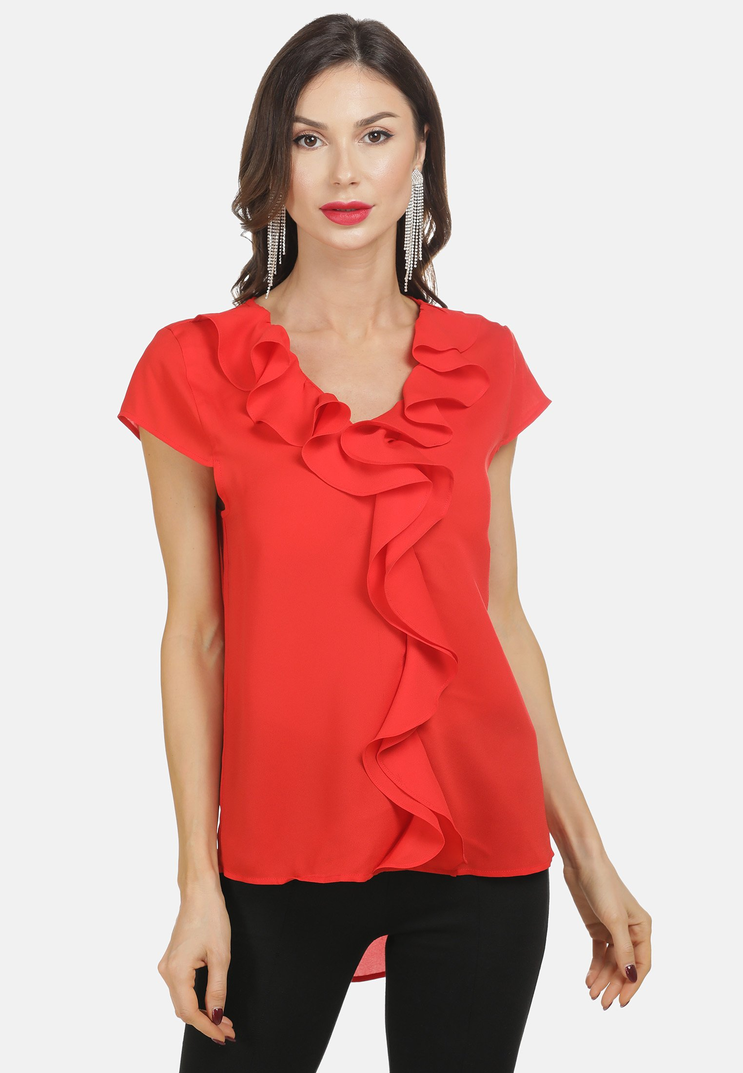 Low Cost Women's Clothing faina BLUSE Blouse rot CGW6QTpFo