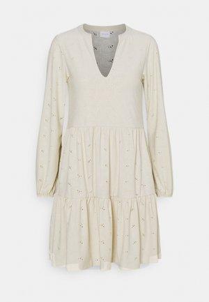VISANIANA V NECK DRESS - Korte jurk - birch