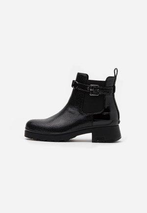 NEW NANCY  - Platåstøvletter - black