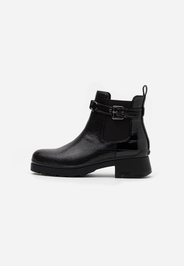 NEW NANCY  - Platform ankle boots - black