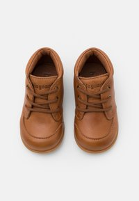Bisgaard - BISGAARD LUCA LACE UNISEX - First shoes - cognac - 3