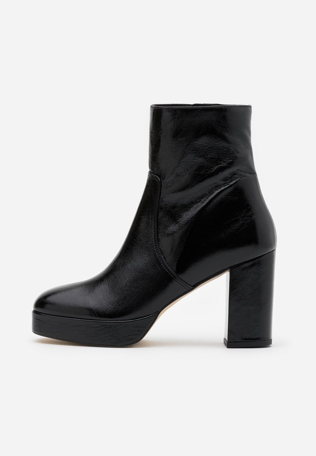VADIRA - High heeled ankle boots - noir