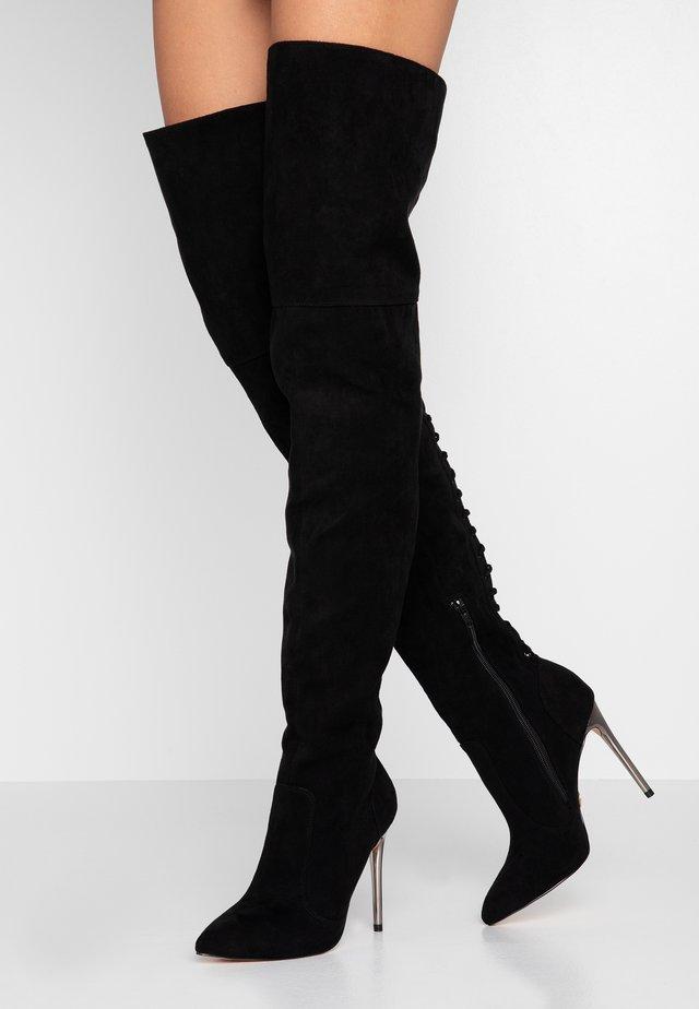 FIETE - High heeled boots - black