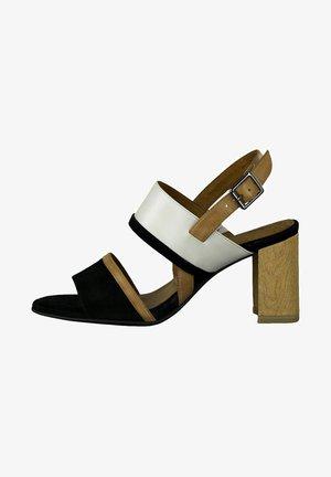 Sandalen met hoge hak - black comb