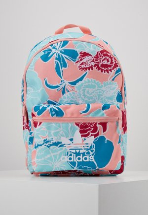 FLOWER - Rucksack - light blue/pink