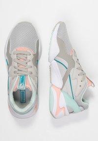 Puma - NOVA - Baskets basses - gray violet/peach bud - 3