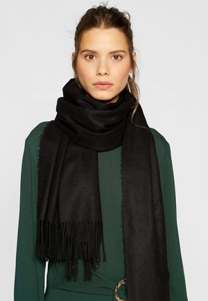 SOFT-TOUCH - Scarf - black