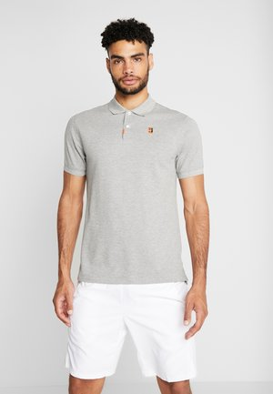 HERITAGE - Sports shirt - grey heather/wolf grey