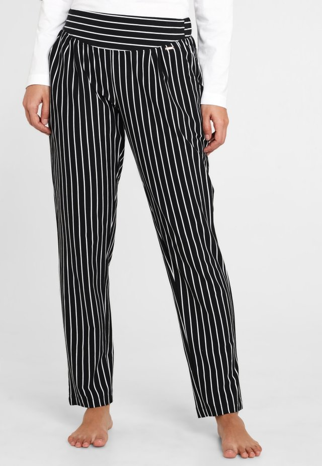 Pyjamahousut/-shortsit - black/white
