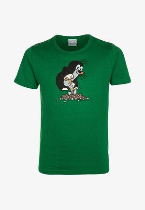 DER KLEINE MAULWURF - Print T-shirt - grün