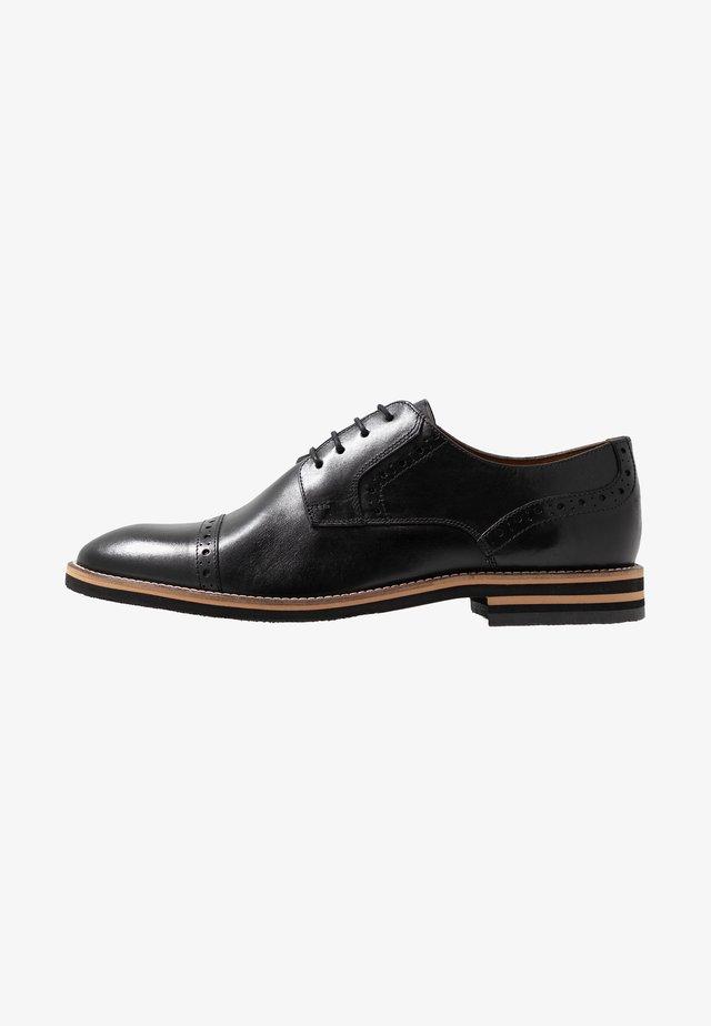 VASCO - Stringate eleganti - black