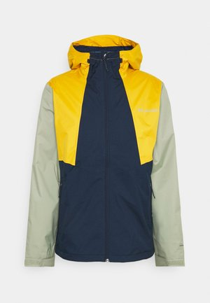 INNER LIMITS™ JACKET - Hardshell jacket - collegiate navy/bright gold/safari