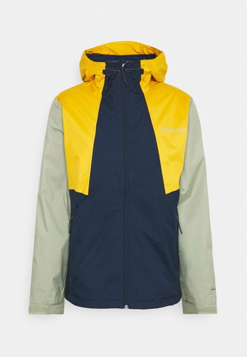 INNER LIMITS™ JACKET - Hardshell jacket - collegiate navy/bright gold/safari