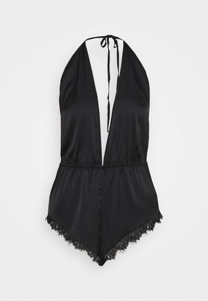 ANGELINA TEDDY - Pyjamas - black
