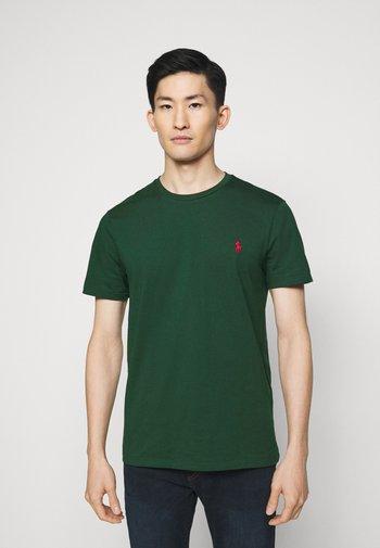 CUSTOM SLIM FIT JERSEY CREWNECK T-SHIRT - T-shirt basic - college green