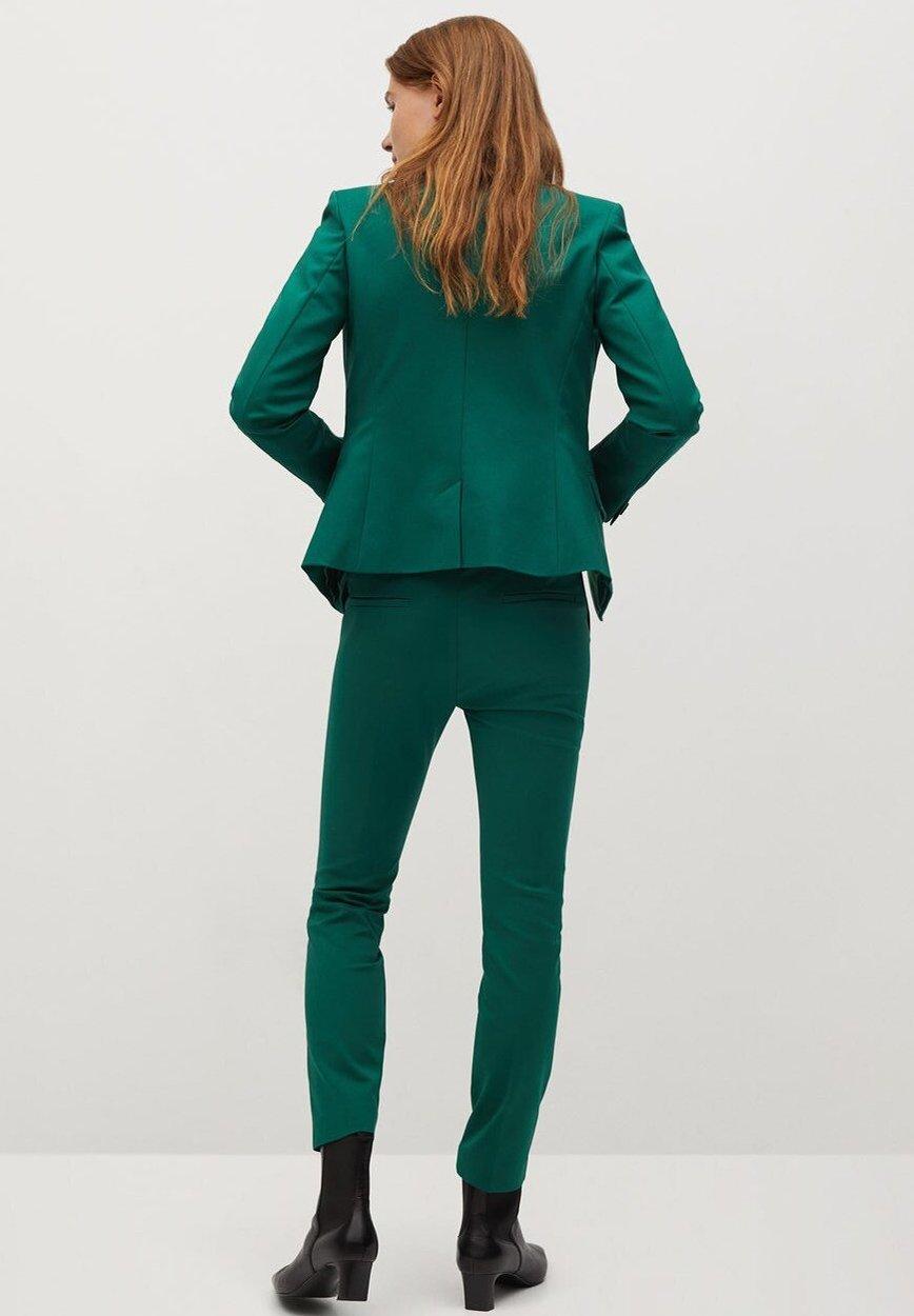 Mango COFI7N Blazer dark green/dunkelgrün