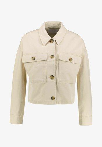 HARDIL - Denim jacket - stein