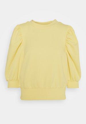 ONLBALOU LIFE ONECK - T-shirts basic - sunshine