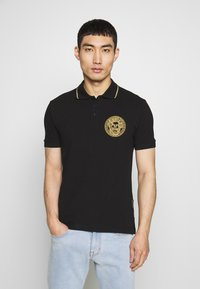 Versace Jeans Couture - EMBROIDERY POLO - Poloshirt - black - 0