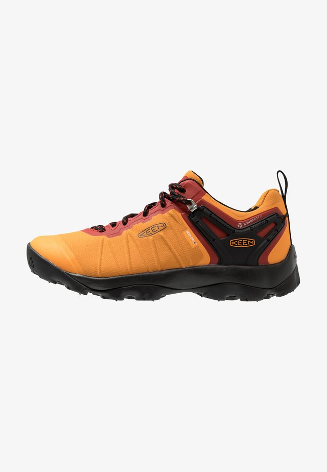 VENTURE WP - Hiking shoes - dark cheddar/raven