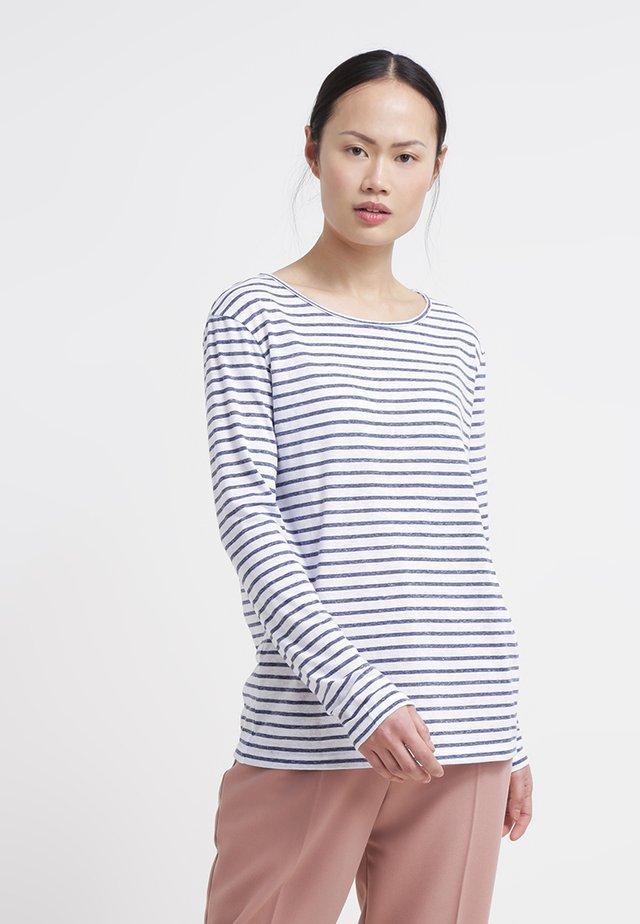 NOBEL STRIPE - Long sleeved top - blue stribe