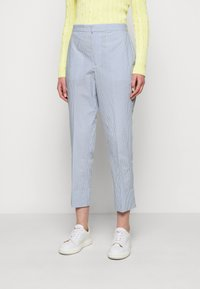 Polo Ralph Lauren - SEERSUCKER - Trousers - blue/white - 0