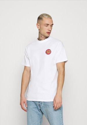 JACKPOT DOT UNISEX - T-shirt imprimé - white
