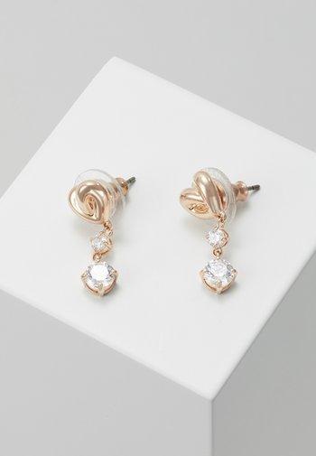 LIFELONG - Earrings - rose gold-coloured