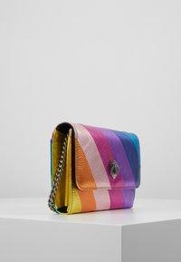 Kurt Geiger London - STRIPE CHAIN WALLET - Across body bag - multi-coloured - 3