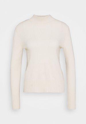 CASH MOCKNECK - Sweter - offwhite