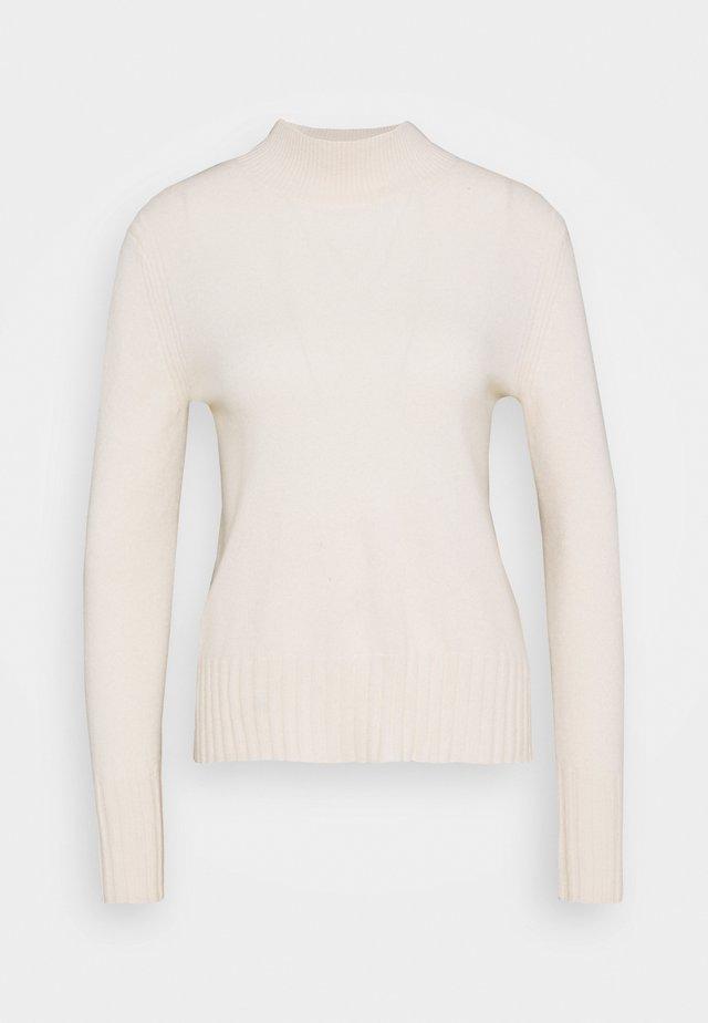 CASH MOCKNECK - Pullover - offwhite