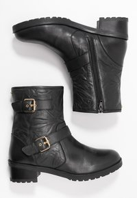Faith - BIKE - Cowboy/biker ankle boot - black - 3