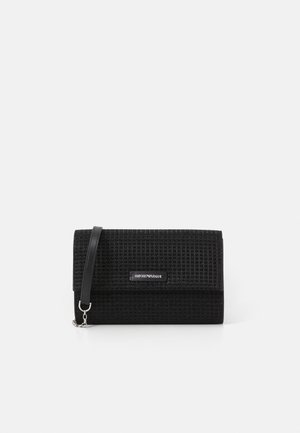 WALLET WITH CHAIN - Portemonnee - nero