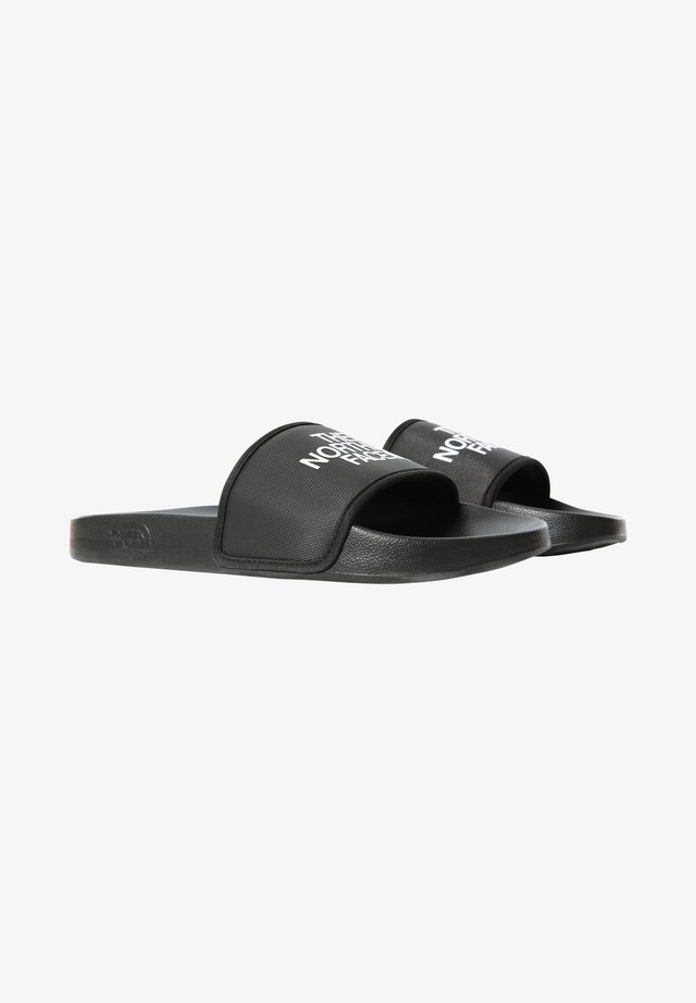 M BASE CAMP SLIDE III - Sandales de bain - tnf black/tnf white