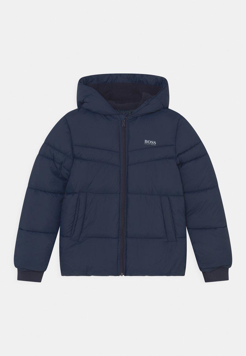 BOSS - PUFFER - Winter jacket - navy