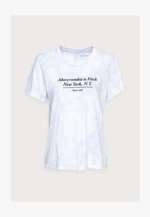 RELAXED - Print T-shirt - light blue