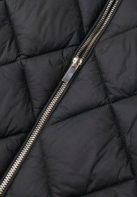 Mango - PIUMINO ROMBI - Winter jacket - nero - 6