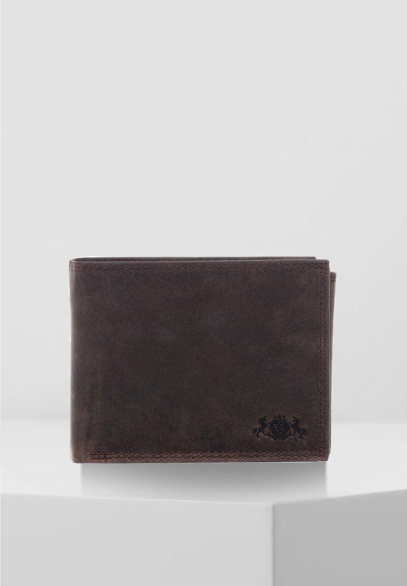 SID & VAIN - GELDBEUTEL - JACK - Wallet - schokolade