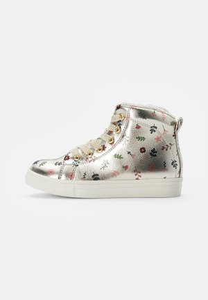 TRAINERS - High-top trainers - gold