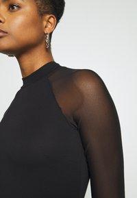 Even&Odd - Pouzdrové šaty - black - 5