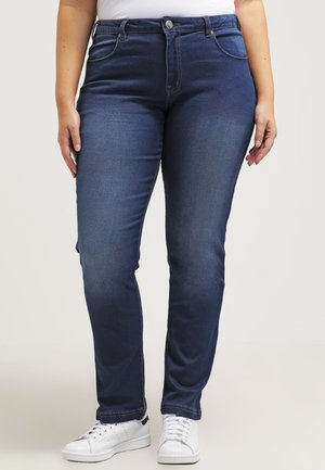 EMILY - Slim fit jeans - blue denim