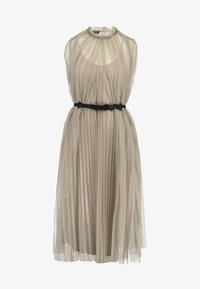 Apart - DRESS WITH BELT - Cocktail dress / Party dress - silver - 6