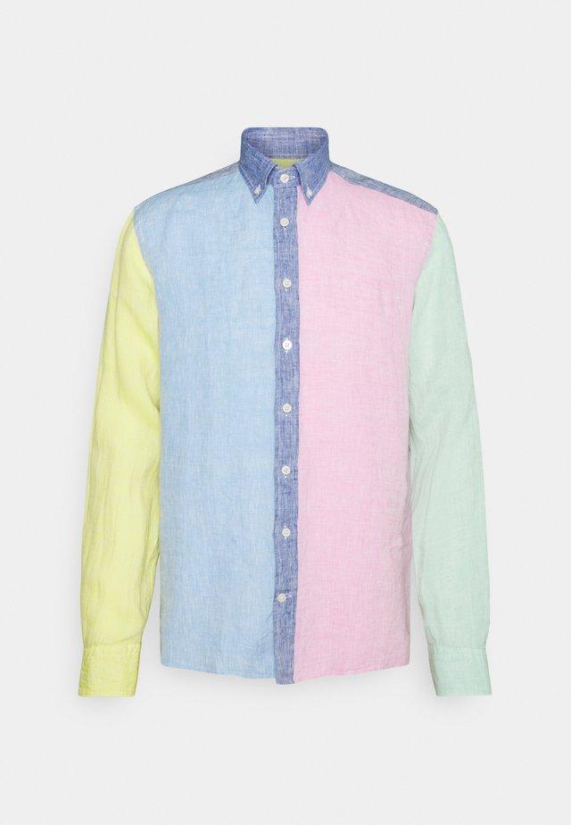 MULTI PANEL SHIRT SLIM FIT - Shirt - multi
