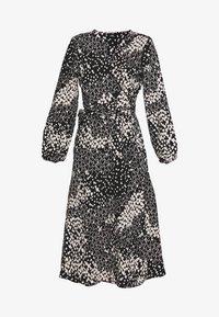 Wallis - HEART PRINT MIDI DRESS - Sukienka letnia - black - 3