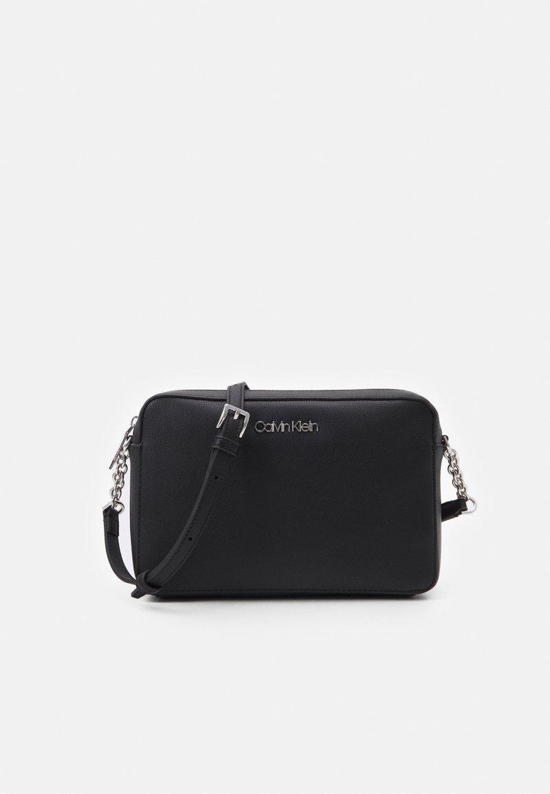 Calvin Klein - CAMERA BAG - Across body bag - black