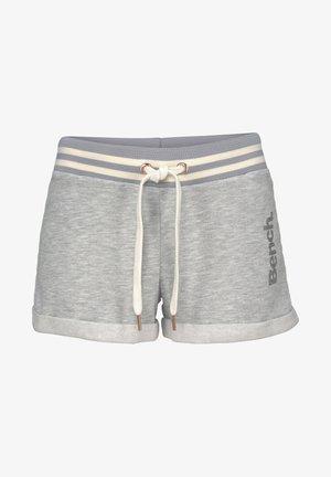 Shorts - grau-meliert